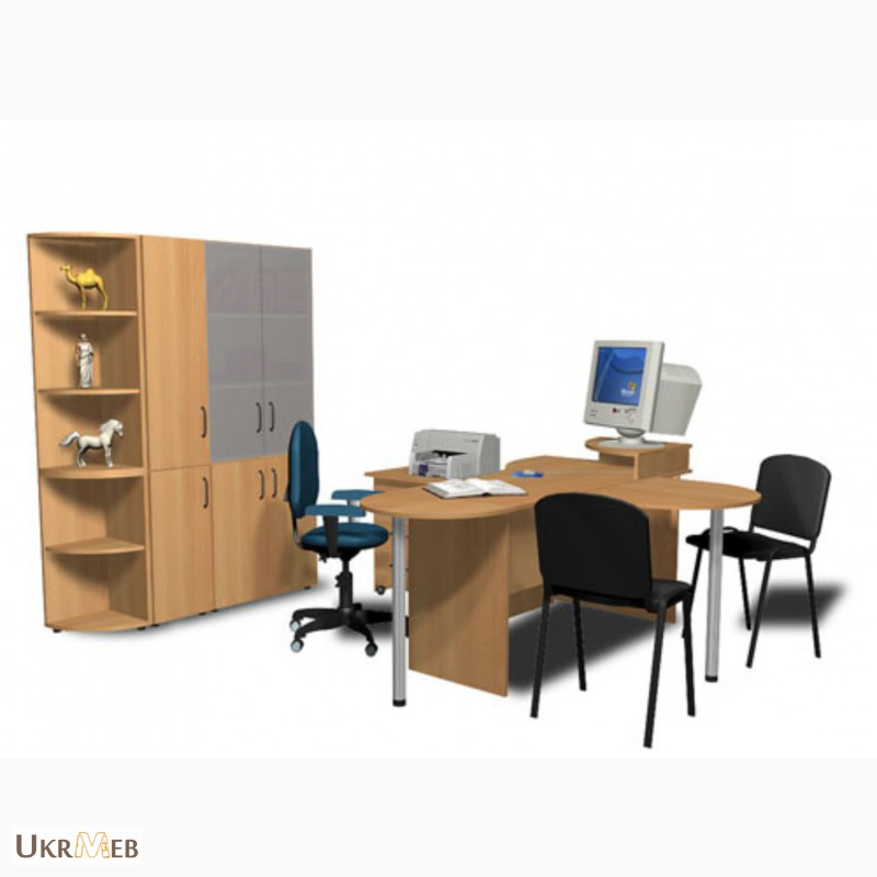 Фото 5. Мебель для офиса по складской программе в Киеве от Дизайн-Стелла