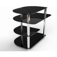Стеклянный компьютерный стол Амальтея