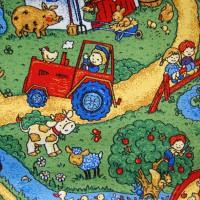 Детские ковры на пол Каникулы. Детский ковролин