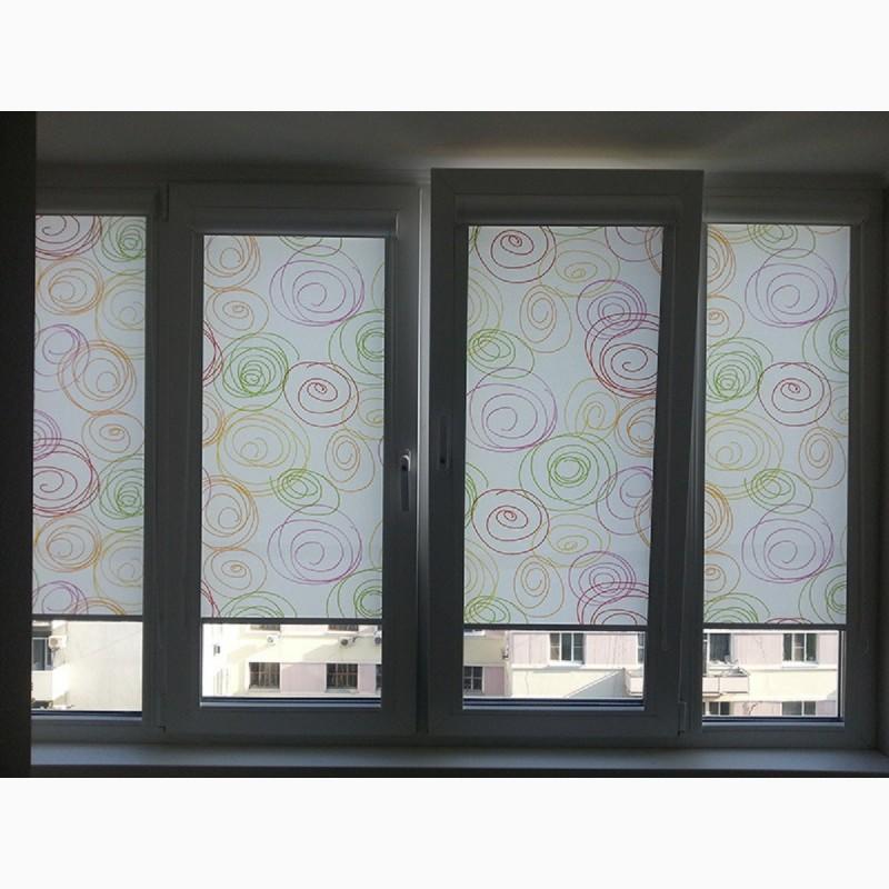 Фото 2. Рулонные шторы: в спальню, офис, на кухню и балкон в Одессе