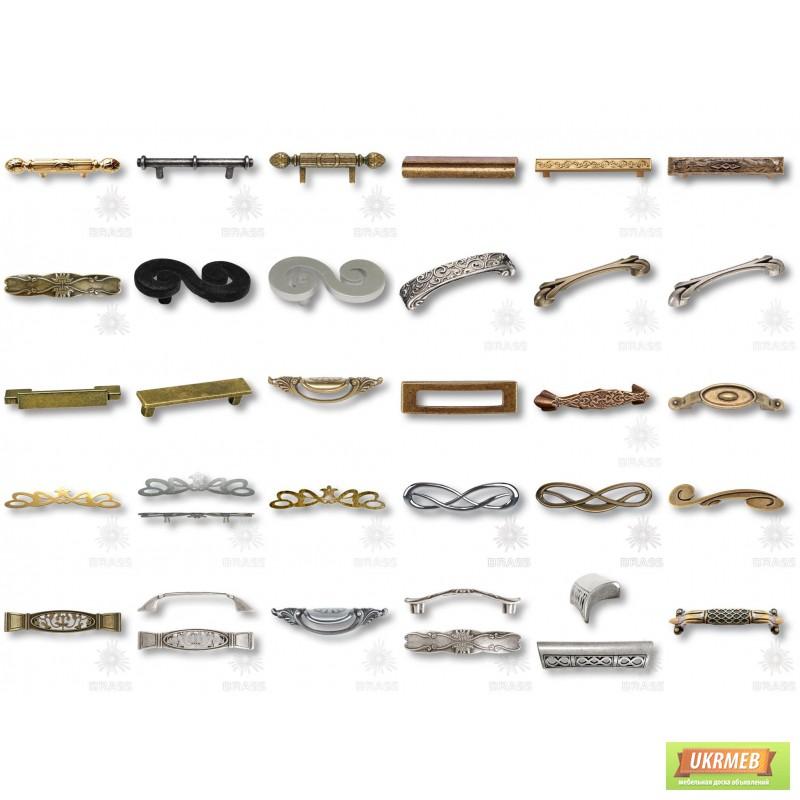 Фото 3. Мебельные ручки с кристаллами сваровски, эксклюзивные ручки для мебели