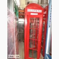 Английская телефонная будка б/у