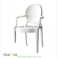 Пластиковый стул Дорис с подлокотниками Одесса