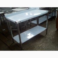 Стол производственный из нержавеющей стали для кафе, ресторана, столовой 1800*600