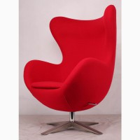 Кресла EGG ткань шерсть, дизайнерское кресло ЭГГ(Яйцо) для дома, офиса, салона студии Киев