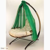 Подвесное кресло качель Эго - потрясающий подарок. Садовые качели
