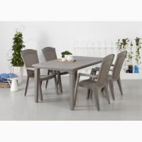 Стол и стул пластиковый для дома сада и заведений
