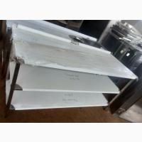 Стол из нержавеющей стали (AISI 201) 2 полки