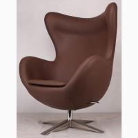 Дизайнерские кресла EGG (ЭГГ) коричневый, красный, черный, белый, кремовый, бежевый кожзам