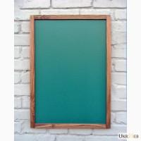 Грифельная доска 50 х 70 см, зеленая