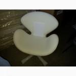Кресла Swan в черном, красном, белом кожзаме Украина