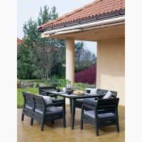 Delano Set With Lima Table 160 голландська мебель из искусственного ротанга