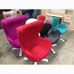 Кресла Swan зеленая, розовая, фиолетовая, красная, синяя ткань Украина