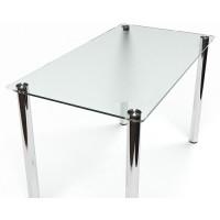 Стеклянный обеденный стол СК-1