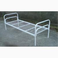 Двухъярусная кровать металлическая, одноярусные кровати