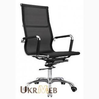 Офисное кресло ML-07HBT для руководителя офиса (сетка), купить кресло ML07HBT офисное Киев