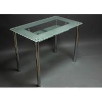 Стеклянный обеденный стол СК-3 100×60 / 61х31