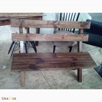 Продам дерев яну лавку бу
