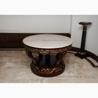 Стол из натурального камня (гранит, мрамор, оникс)