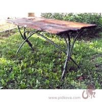 Кованый стол Бамбук в наличии