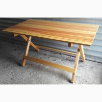 Комплект раскладной стол и лавки