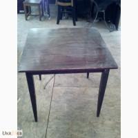 Продам столы цвета махагон бу