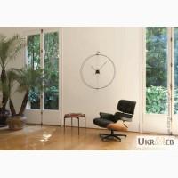 Премиум настенные часы Nomon Barcelona Wall Clock, Walnut