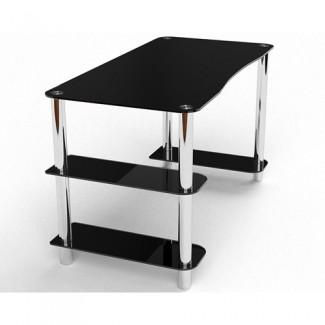 Стеклянный компьютерный стол Магистр
