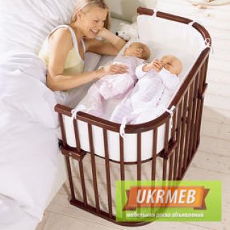 Приставные кроватки для малышей