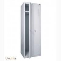 Железные Шкафы металлические для раздевалок 600х500х1800h 2-хсекционные