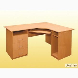 Компьютерный стол Гелика угловой, стол для менеджера