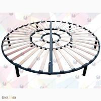 Трехконтурный каркас для круглой кровати