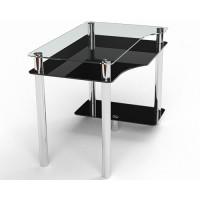 Стеклянный компьютерный стол Арес