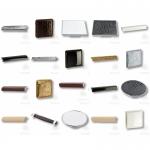 Эксклюзивные ручки для мебели, ручки с кожей, мебельная фурнитура