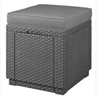 Пуфик стул Cube With Cushion искусственный ротанг Нидерланды