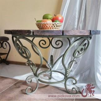 Кованый кофейный столик в наличии