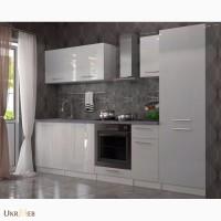 Кухня в цвете Белый глянец