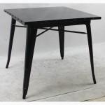 Металлический стол Толикс Квадратный, 80x80см (Tolix Square, 80x80cm.)