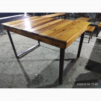 Столи, лавки, стільці, садові та барні меблі