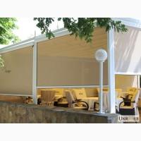 Рефлексоли, внешние, наружные рулонные шторы для беседок