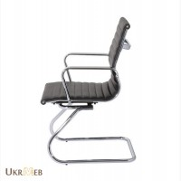 Офисное кресло конференционное Q-04CF черное, белое, кремовое, серое