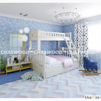Двухъярусная кровать Жасмин из натурального дерева