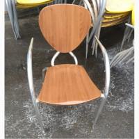 Стул алюминиевый б/у, стул б/у для кафе Италия