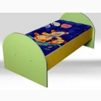 Кровать детская 1400*600 с радиусными спинками