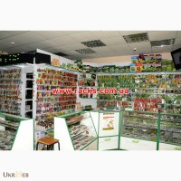 Стелажі для супермакетів і магазинів