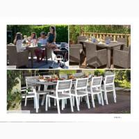 Столи для будинку, тераси, кафе і бару Allibert Голландія