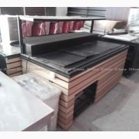 Б.у стол шведский охлаждаемый (прилавок холодильный для тарелок), линия раздачи бу