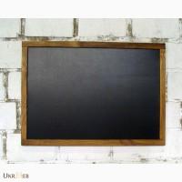 Грифельная доска 50х70 см, черная