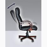 Офисное кресло руководителя Кардинал, черное