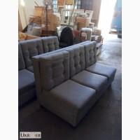 Продажа бу диванов серого цвета для кафе в хорошем состоянии